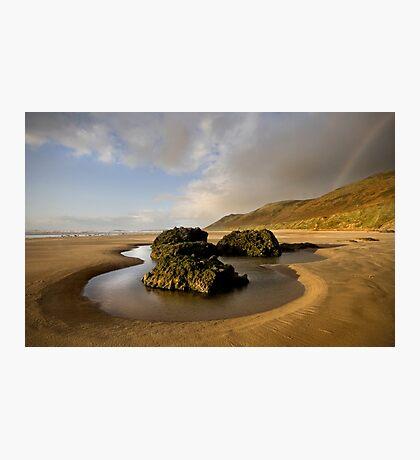 Rainbow Rock Pool  Photographic Print