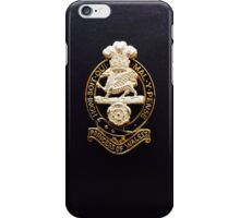 PWRR Cap Badge iPhone Case/Skin