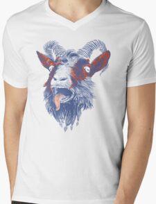 Rock Goat Mens V-Neck T-Shirt