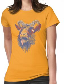 Rock Goat Womens Fitted T-Shirt