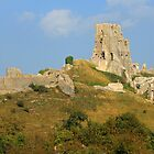 Corfe Castle by RedHillDigital
