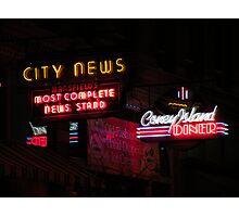 city news Photographic Print