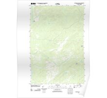 Maine USGS Historical Map Cunliffe Islands 20110906 TM Poster