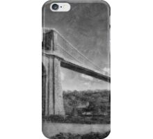 Menai Suspension Bridge iPhone Case/Skin