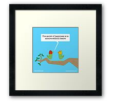 Birds of Wisdom Framed Print