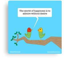 Birds of Wisdom Canvas Print