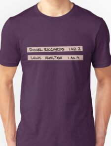 Hitting Top Gear Unisex T-Shirt