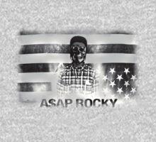 A$AP ROCKY BLACKWHITE SKULL by TheJokerSolo