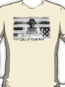 A$AP ROCKY BLACKWHITE SKULL T-Shirt