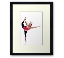 Standing Pose Framed Print