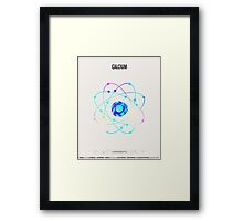 Calcium - Element Art Framed Print