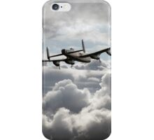 Lancaster In The Clouds  iPhone Case/Skin