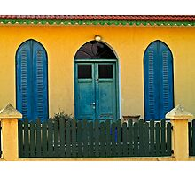 Colourful Neighbour Photographic Print