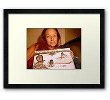 Art Is Alive Framed Print