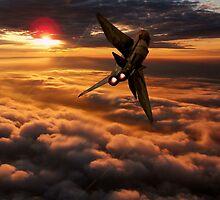 Lightning Sundown by J Biggadike