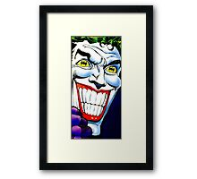 I'm not joking. Framed Print
