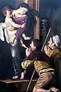 Madonna di Loreto after Caravaggio by Hidemi Tada