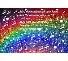 Rainbow of love Photographic Print