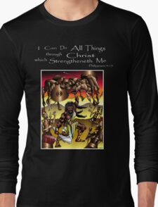 Sampson (All things are possible through Christ) T-Shirt