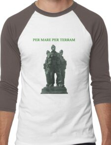 Royal Marines Commando Tee Shirt Men's Baseball ¾ T-Shirt