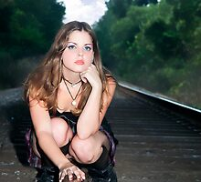 On the Tracks Shoot by Leta Davenport