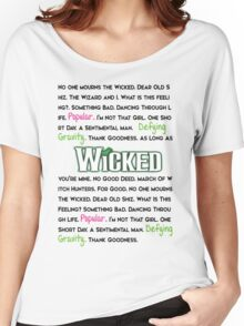 Wicked The Musical Women's Relaxed Fit T-Shirt
