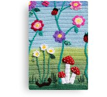 Garden of Imagination Toadstools Canvas Print