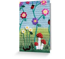 Garden of Imagination Toadstools Greeting Card