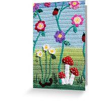 Garden of Imagination Toadstools Greeting Card