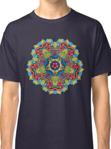 Psychedelic jungle kaleidoscope ornament 36 Classic T-Shirt