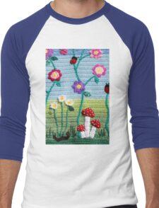 Garden of Imagination Toadstools Men's Baseball ¾ T-Shirt