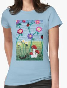 Garden of Imagination Toadstools Womens Fitted T-Shirt