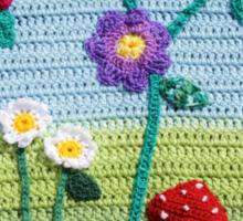 Garden of Imagination Toadstools Sticker