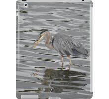 Blue Heron 2 iPad Case/Skin