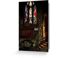 ST. ANDREWS CASTLE SCOTLAND Greeting Card