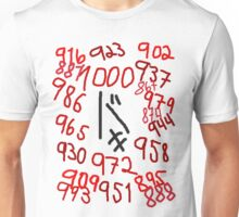 Jason's Countdown Unisex T-Shirt