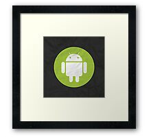 Material Droid Framed Print