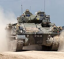 British Army Warrior Infantry Fighting Vehicle by Andrew Harker