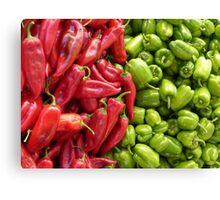 Chillies Canvas Print