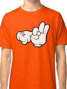 Funny Fingers. Classic T-Shirt