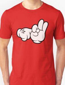 Funny Fingers. Unisex T-Shirt