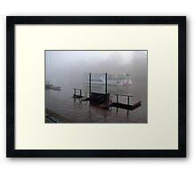 Mark Twain Showboat on the Dee River  Framed Print