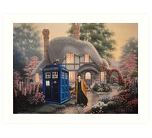 Something odd in the Garden Art Print