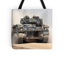 British Army Warrior Infantry Fighting Vehicle Tote Bag