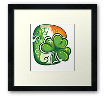 Clover - St Patricks Day Framed Print