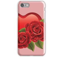 Heart with roses! iPhone Case/Skin
