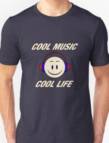 Cool Music Cool Life  T-Shirt