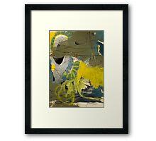 positive affirmations Framed Print