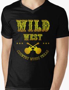 Wild West  Mens V-Neck T-Shirt