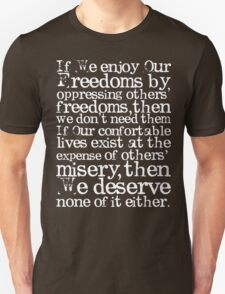 Our Freedoms Unisex T-Shirt